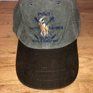 Vintage 90's Infant Polo Ralph Lauren corduroy cap